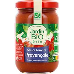 Jardin Bio Jardin bio étic - Sauce tomate provençale BIO le pot de 200 g