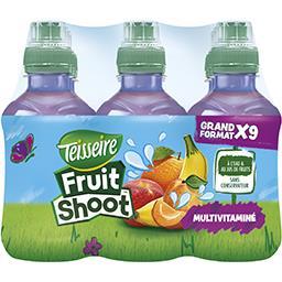 Teisseire Teisseire Fruit Shoot - Boisson multivitaminé les 9 bouteilles de 20 cl
