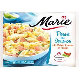 Marie Marie Penne au saumon à la crème, tomates et basilic le sachet de 900 g