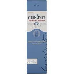 The Glenlivet The Glenlivet Single Malt scotch Whisky la bouteille de 70 cl