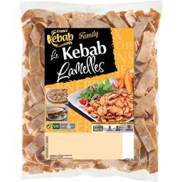 France Kebab France Kébab Le Kebab lamelles volailles le sachet de 750 g