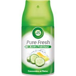 Pure Fresh - Recharge désodorisant Concombre et Melon