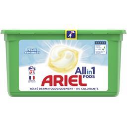 Ariel Ariel Lessive en capsules All in 1 pods fresh sensitive La boîte de 31 lavages