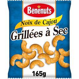 Bénénuts Bénénuts Noix de cajou grillées à sec le sachet de 165 g
