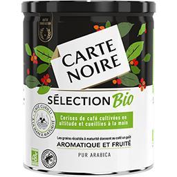 Carte Noire Carte Noire Café moulu pur arabica Sélection BIO le pot de 250 g