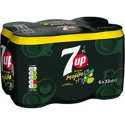 Seven Up Seven Up Soda Mojito les 6 boites de 33 cl