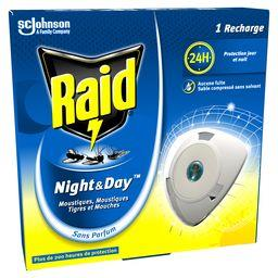 Night & Day - Recharge pour diffuseur anti-moustiques et mouches
