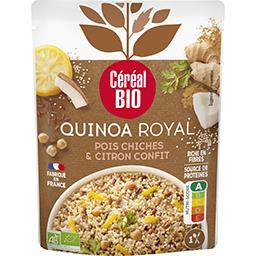 Céréal Bio Céréal Bio Quinoa royal pois-chiches et citron confit au lait de coco le sachet de 220g