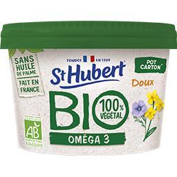 St Hubert St Hubert BIO - Margarine 100% Végétal oméga 3 doux BIO le pot de 230 g