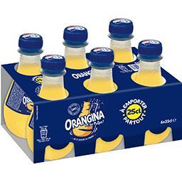 Orangina Orangina Soda aux fruits et sa pulpe les 6 bouteilles de 25 cl