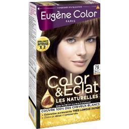 Eugène Color Eugène Color Les Naturelles - Crème colorante permanente, marron clair doré la boîte de 115ml