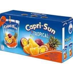 Capri-Sun Capri-Sun Fruits Crush - Nectar Tropical les 10 briques de 200 ml
