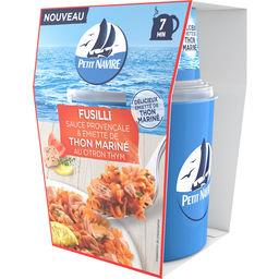 Petit Navire Petit navire Fusilli sauce provençale & émietté de thon mariné citron la boite de 140 g