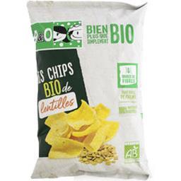 A&O A&O Mes Chips BIO de lentilles le sachet de 65 g