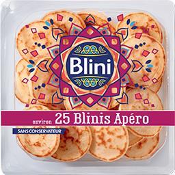 Blini Blini Blinis apéro la barquette de 25 - 125g