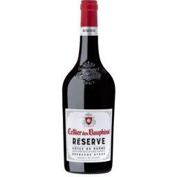 Cellier des dauphins Cellier des dauphins Vin rouge Côtes du Rhône Reserve la bouteille de 75cl