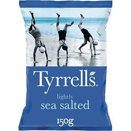 Tyrrell's Tyrrell's Chips légèrement salées au sel de mer le paquet de 150 g