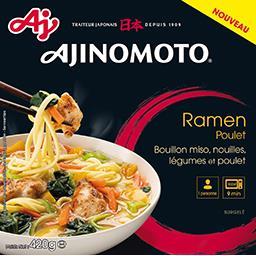 Ajinomoto Ajinomoto Ramen poulet la boite de 420 g