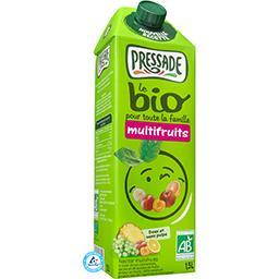 Pressade Pressade Le BIO - Jus multifruits sans pulpe BIO la brique de 1,5 l