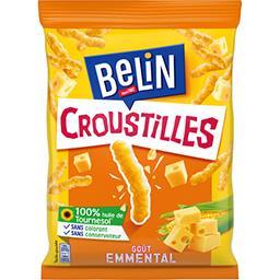 Belin Belin Croustilles - Biscuits apéritif goût emmental le sachet de 88 g