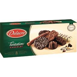 Delacre Delacre Assortiment biscuits Tentation chocolat le paquet de 150 g