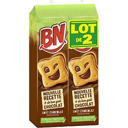 BN BN Biscuit au chocolat le lot de 2 -  570g