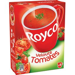 Royco Royco Velouté tomates et persils les 4 briques de 72g