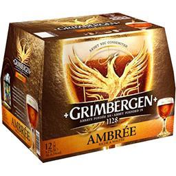 Grimbergen Grimbergen Ambrée - Bière d'Abbaye le pack de 12x25cl