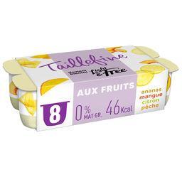 Taillefine ,  Yaourt aux fruits jaunes, allégé 0%mg