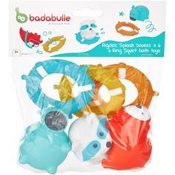 Badabulle Badabulle Rigolos Splash bouées les 6 animaux