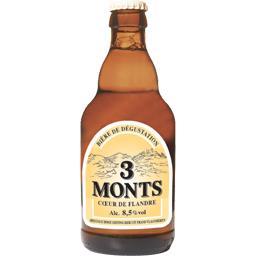 3 Monts 3 Monts Bière de Flandre la bouteille de 33 cl
