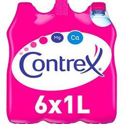 Contrex Contrex Eau minérale naturelle les 6 bouteilles de 1 l