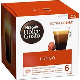 Nescafé Nescafé Dolce Gusto - Capsule de café la boite de 16 capsules