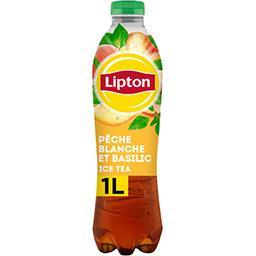 Lipton Lipton Boisson au thé pêche blanche et basilic la bouteille de 1l