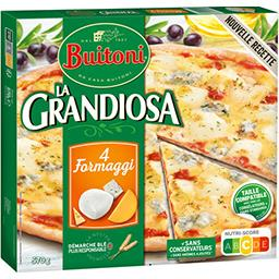 Buitoni Buitoni La Grandiosa - Pizza 4 Formaggi la boite de 570 g