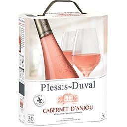 Cabernet d'Anjou Castel frères Cabernet d'anjou plessis duval, vin rosé la fontaine à vin de 3 l