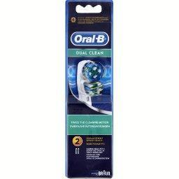 Oral B Oral B Têtes pour brosses à dents électriques, dual clean le paquet de 2