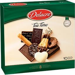 Delacre Delacre Tea Time - Assortiment de biscuits la boite de 300 g