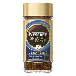 Nescafé Nescafé Spécial Filtre - Café soluble décaféiné, Riche & Subtil le bocal de 200 g