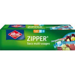 Albal Albal Sacs congélation multi-usages Zipper petit modèle 1 l les 12 sacs