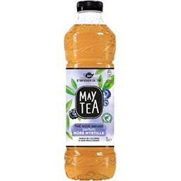 May Tea May Tea Thé noir infusé parfum mûre myrtille la bouteille de 1 l