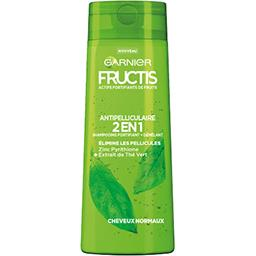 Garnier Fructis Shampooing Antipelliculaire 2 en 1, cheveux normaux le flacon de 250 ml