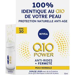 Nivea Nivea Q10 Power - Crème de jour FPS30 anti-rides + fermeté le pot de 50 ml
