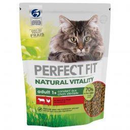 Perfect Fit Perfect fit Natural Vitality - Croquettes bœuf & poulet pour chats le sac de 1 kg