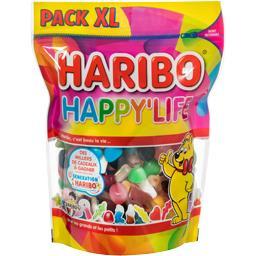 Haribo Haribo Assortiment de bonbons Happy'Life le paquet de 750 g
