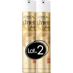 L'Oréal Elnett Satin Laque fixation normale le lot de 2 bombes de 300 ml