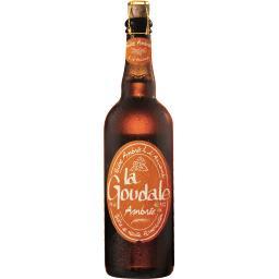 La Goudale La goudale Bière ambrée à l'ancienne la bouteille de 75 cl