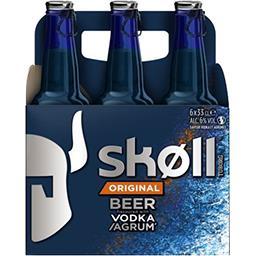 Skoll Skoll Original - Bière aromatisée vodka et agrumes le pack de 6x33cl