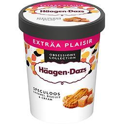 Häagen-Dazs Haagen-Dazs Crème glacée au caramel et morceaux de spéculoos le pot de 650 ml
