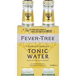 Fever Tree Fever-Tree Premium Indian Tonic Water les 4 bouteilles de 200 ml